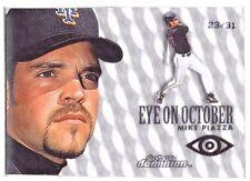 2000 Skybox Dominion Mike Piazza EYE ON OCTOBER Warp Tek Plus JAMBALAYA /31  WOW