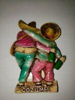 Vintage Mexico - COZUMEL - Travel Souvenir Fridge 3D Resin Magnet
