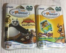 VTech V.Smile Motion LOT 2 Scooby-doo Funland Kung Fu Panda Path of the Panda