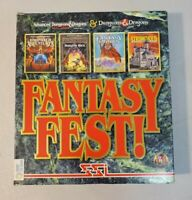 SSI Fantasy Fest! Dungeons & Dragons PC Game Dungeon Hack Empires EXTREMELY RARE