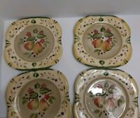 Set of 4 Certified International La Toscana Dinner Plates by Pamela Gladding