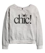 Pull holy chic h&m gris blog Taille M
