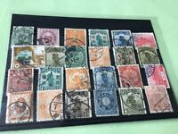 Asia  vintage stamps some Faults  Ref 52216