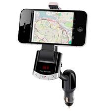 E10 Bluetooth Car Kit FM Transmitter MP3 USB Ladegerät Auto Smartphone Halterung