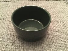 "FRANKOMA RANCH CATTLE BRANDS NO BRANDS GREEN CHIP DIP BOWL 4""DIA X 2 1/2"" HIGH"