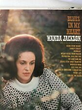"Rare Promo Copy WANDA JACKSON ""BLUES IN MY HEART"" Perforated Promo !"