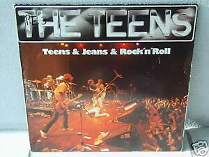 """***THE TEENS""""TEENS & JEANS & ROCK'N'ROLL""""-12""""Inch LP***"""