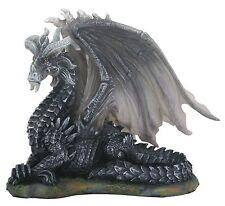 Dark Dragon (Black) Figurine Statue Sculpture  - Gift Boxed