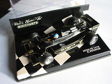MINICHAMPS LOTUS 79 DE 1978 R. PETERSON SCALE 1/43