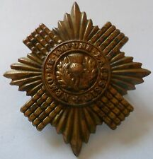 Scots Guards Brass Cap Badge