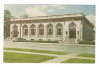 Post Office Building Connersville Indiana Unused Vintage Postcard EB40