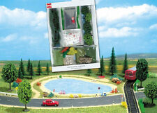 More details for busch 7191 new oo/ho scenery starter kit