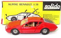SOLIDO VINTAGE NO. 192 1/43 ALPINE RENAULT A310 - MINT BOXED
