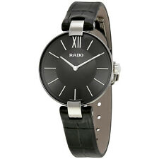Rado Coupole Black Dial Ladies Watch R22850155