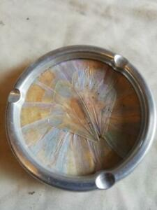 MID CENTURY RETRO BUTTERFLY WING ASH TRAY