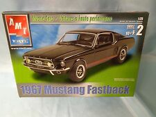 1967 FORD MUSTANG FASTBACK  AMT ERTL 1/25 NEW UNSEALED BOX