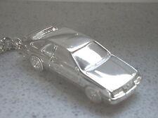Schlüsselanhänger Ford Sierra versilbert (5170)