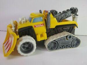 Vtg 1999 Hasbro Tonka Truck Plow-N-Tow Motorized Truck ~ TESTED & WORKING READ!