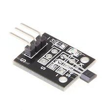 Modulo del sensor Hall de magnetico estandar para Arduino DIY DC 5V Negro X7Y5