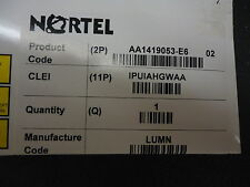 AA1419053-E6 NORTEL NETWORKS 1-PORT 1000BASECWDM SMALL FORM FACTOR BRAND NEW!