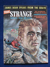 JAMES DEAN SPEAKS FROM THE GRAVE 'True Strange' Magazine Article - March, 1957