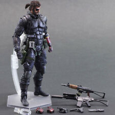 PLAY ARTS KAI Metal Gear Solid 5 Venom Snake PVC Action Figure Collection Model
