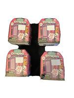 4 Random New Disney Doorables Mini Peek Figures Boxes Purple Door Lot Of 4!!!
