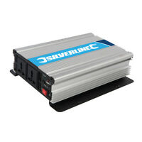 Silverline Inverter 1000W 12V DIY Power Tools