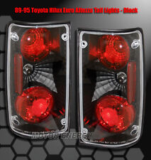 89-95 TOYOTA SR5 ALTEZZA REAR TAIL LIGHTS LIGHT BLACK 1992 1993 DLX PICKUP 2DR