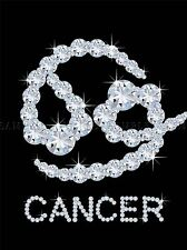 DIAMOND ZODIAC CANCER BLING VAJAZZLE HOROSCOPE PHOTO ART PRINT POSTER BMP340A