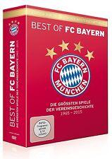 Best of FC Bayern München - Die größten Spiele der Vereinsgeschichte 6 DVD NEU