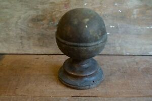 Antique Wood Finial/Topper Staircase topper Newel Post Topper