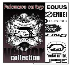 performance auto logo vector COLLECTON in EPS MOLLETTA ARTE PLOTTER
