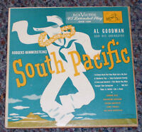 2 Record Set 45rpm South Pacific RCA Victor Deel, Eastman, Carroll, Carpenter