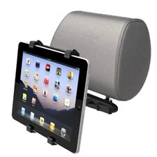 Car Headrest Mount Tablet Holder Swivel Cradle Back Seat Dock Stand for Tablets