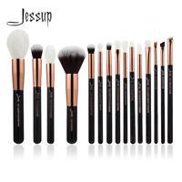 15pcs Pro Makeup Brushes Set Cosmetic Eyeshadow Powder Foundation Lip Brush Tool