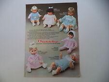 advertising Pubblicità 1974 BAMBOLE FURGA ANDREA/POLDINA/MANUELA/MARINELLA