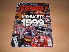 Rennsportmagazin FORMEL 1 Heft 5 / 1999 HIGHLIGHTS 1999