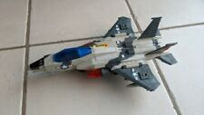 Vintage Toy Fighter Jet with 4 missals & Moving parts by Arco