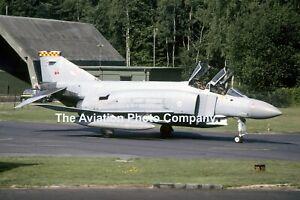 RAF 92 Squadron McDonnell F-4M Phantom FGR.2 XT911 (1986) Photograph