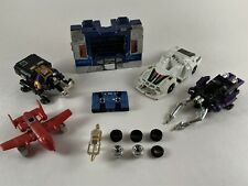 VINTAGE G1 TRANSFORMERS Mixed Lot Parts Weapons Figures Wheels 1984 Hasbro