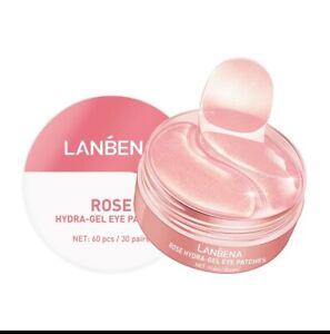 Rose Collagen Hydrogel Moisturizing Nourishing Eye Mask Under Eye Patches