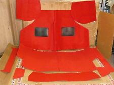 Teppichsatz Teppich Rot 9 Tlg Neu Rover Mini Austin