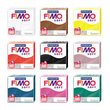 Genuine FIMO® Soft Modelling Oven Bake Clay 57g or 454g Blocks * Popular Colors