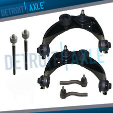 2007-2011 Mercury Milan Complete 6pc Front Forward Rearward Lower Control Arms /& Upper Control Arms Kit for 2007-2012 Ford Fusion Lincoln MKZ - Built after 9//30//06