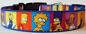 The Simpsons dog collar