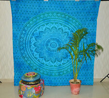 Queen Ombre Psychedelic mandala Wall Hanging Beach Towel Tapestry Home Decor