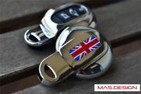 Chrome key case for 2014 on MINI COOPER F54 F55 F56 F57 F60 in Union Jack Style