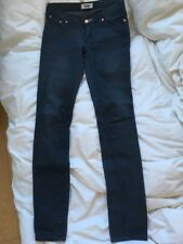 ACNE Blue Gray Kex Thunder Skinny Jeans - Size 27/32 EXCELLENT++ $200
