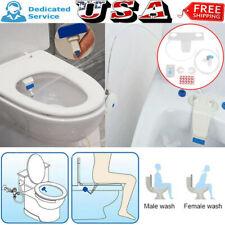 Bathroom Bidet Toilet Fresh Water Spray Clean Seat Non-Electric Kit Attachment